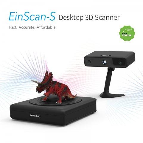 EinScan-S Desktop 3D Scanner